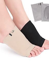 cheap -5 Pairs Elastic Foot Arch Flat Foot Cover Men And Women Massage Sebs Foot Core Corrective Insole Foot Core Pad Foot Pad Bunion Corrector