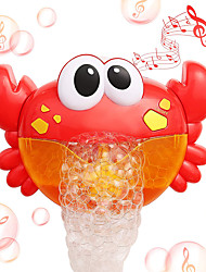 cheap -Bubbles Toy with 12 Children's Songs Bath Toy Bathtub Pool Toys Water Pool Bathtub Toy Crab Plastic Bathtime Bathroom for Toddlers, Bathtime Gift for Kids & Infants / Kid's