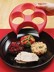 cheap -Healthy Meal Measure Tool for Perfect Portion Weight Control Plate Diet Slimming Naturalize Manage
