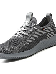 cheap -Men's Sneakers Outdoor Work & Safety Stainless Steel Tissage Volant Breathable Trainer Wear Proof Black Blue Khaki Spring Summer