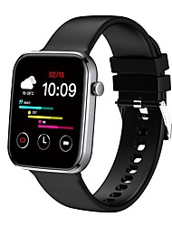 cheap -Z15 Unisex Smartwatch Bluetooth Heart Rate Monitor Blood Pressure Measurement Sports Calories Burned Long Standby Stopwatch Pedometer Call Reminder Sleep Tracker Sedentary Reminder