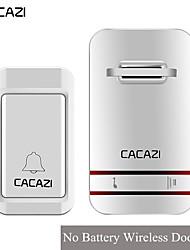 cheap -KONLEN V027G Wireless One to One Doorbell Music Non-visual doorbell / Waterproof / Sound adjustable Surface Mounted Doorbell
