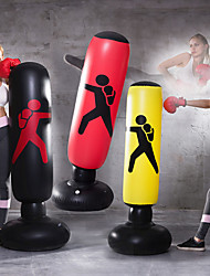 cheap -Inflatable Boxing Bag Training Pressure Relief Exercise Water Base Punching Standing Sandbag Fitness Body Building Equipment