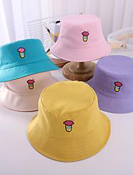 cheap -1pcs Kids / Toddler Unisex Basic Birthday / Casual / Daily Wear Cartoon / Letter Stylish Cotton Hats & Caps Blue / Purple / Yellow S