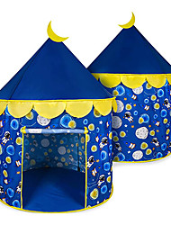 cheap -Space World Play Tent-Kids Galaxy Tent for Boys and Girls,Pop Up Camping Tent-Astronaut Space Playhouse for Kids Indoor and Outdoor Fun, Perfect Kids Gift (Blue)