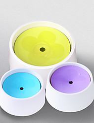 cheap -Dog Cat Bowls & Water Bottles / Feeders / Automatic Drinking Bowl 1000 L Plastic & Metal Adjustable / Retractable Durable Splittable Solid Colored Purple Yellow Blue Bowls & Feeding