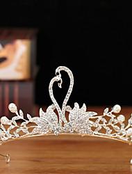 cheap -Wedding Princess Alloy Hair Accessory with Metal 1 PC Wedding / Birthday Headpiece