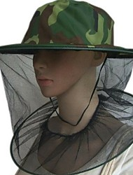 cheap -Beekeeping Hat Professional Mosquito Bug Insect Outdoor Protector Bee Resistance Net Mesh Head Face Cap