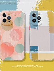 cheap -Phone Case For Apple Back Cover iPhone 12 Pro Max 11 SE 2020 X XR XS Max 8 7 Pattern Geometric Pattern TPU