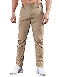 cheap -Men's Hiking Pants Trousers Hunting Pants Tactical Cargo Pants Waterproof Ventilation Quick Dry Breathable Fall Spring Solid Colored for ArmyGreen Black khaki 4XL Consulting Customer Service