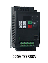 cheap -Single-phase 220V input 1.5kw2HP three-phase 380V output 650HZ inverter speed controller motor speed controller