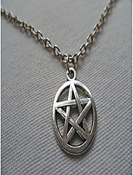 cheap -pentagram necklace, pentacle necklace,small silver pentagram necklace, wiccan, pagan, wiccan jewelry, pentagram pendant silver pentacle