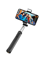 cheap -Bluetooth Selfie Stick Youtube Tiktok Phone Holder Bluetooth Remote Control Max Length 110cm Selfie Stick Extendable Holder for iPhone 12 11 Samsung S21 A12 Mobile Universal Android iOS Selfie Stick