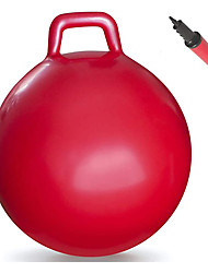 "cheap -Hopper Ball| Hippity Hop | Jumping Hopping Therapy Ball | Relay Races | Red 18"" (Ages: 3-6 (18""/45CM)"
