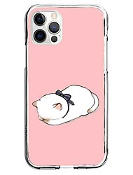 cheap -Animal Phone Case For Apple iPhone 12 iPhone 11 iPhone 12 Pro Max Unique Design Protective Case Pattern Back Cover TPU