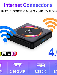 cheap -Android 10.0 TV Box Factory OEM z5 Bluetooth 4.0 4K 4K Support H.265 RK3318 2GB 4GB 64GB 32GB 16GB