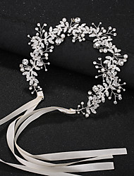 cheap -Wedding Bridal Alloy Headbands / Headdress / Headpiece with Imitation Pearl / Crystal / Rhinestone / Flower 1 Piece Wedding / Party / Evening Headpiece