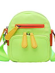cheap -Women's Bags Crossbody Bag Daily 2021 MessengerBag Black Blue Orange Green
