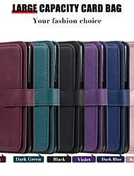 cheap -Phone Case For Xiaomi Full Body Case Wallet Card Poco X3 NFC Mi 10 Mi 10 Pro Mi 10 Ultra Mi 10T Pro 5G Poco M3 Redmi Note 9 4G Redmi Note 9 5G Redmi Note 9 Pro Redmi Note 8 Wallet Card Holder