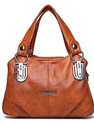 cheap -Women's Bags Top Handle Bag Office & Career Handbags Black Green Brown