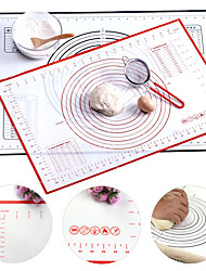 cheap -Silicone Baking Mat Non-Slip Silicone Pastry Mat Non Stick for Fondant Rolling Dough Pie Crust Pizza and Cookies BPA Free Easy Clean Kneading Matts Heatproof 16 x 24 Inches