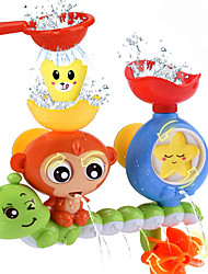 cheap -Bath Toy Bathtub Pool Toys Water Pool Bathtub Toy Monkey Plastic Sprinkler Bathtime Bathroom for Toddlers, Bathtime Gift for Kids & Infants / Kid's