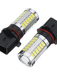 cheap -2pcs Car LED Fog Lights Light Bulbs 1500 lm SMD 5730 16.5 W 6500 k 33 For BMW All Models All years