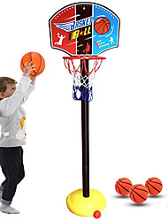 cheap -Basketball Toy Basketball Hoop Basketball Goal Toy Ball Pump Basketball Hoop Set Mini Portable Height Adjustments Adjustable Sports Outdoor Indoor Plastics 20-45 inch 14 years+ Boys' Girls' Boys and