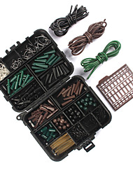 cheap -187 pcs Fishing Hooks Fishing Snaps & Swivels Fishing Beads Fishing Accessories Set Plastics Metal ABS Easy to Carry Easy to Use Carp Fishing