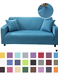 cheap -Stretch Slipcover solid color loveseat sofa cover, non slip, soft,thin and dust-proof.