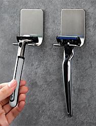 cheap -304 Stainless Steel Razor Hanger Manual Razor Shelf Bathroom Punch-free Storage Rack Hook