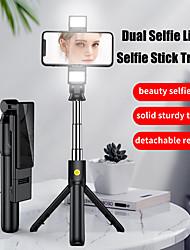 cheap -K12 Bluetooth Selfie Stick Extendable Tik tok Selfie Stick Max Length to 110cm Youtube Wireless Control Selfie Stick For iPhone 12 11 Xs XR Samsung Xiaomi Huawei Smartphones Smart Devices