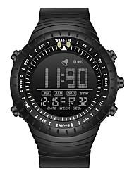 cheap -WLISTH Men's Digital Watch Analog Digital Sporty Big Face Chronograph Luminous Alarm Clock