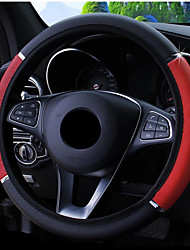 cheap -Steering Wheel Covers Carbon Fiber Black / Blue / Red For universal Avenger All years