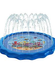 "cheap -Splash Pad Sprinkler for Kids & Toddlers - Outdoor Inflatable Wading Pool 68"" - Children's Splash Play Mat - Kiddie Pool Water Fun Toys for Babies"