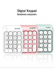 cheap -AJAZZ AK18 Wireless 2.4GHz Creative Keyboard Mini Size Novelty 18 pcs Keys