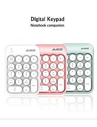 cheap -AJAZZ AK18 Wireless 2.4GHz Creative Keyboard Mini Size Novelty 18 pcs Keys