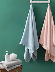 cheap -Superior Quality Bath Towel, Solid Colored / Fashion 100% Coral Fleece Bathroom 1 pcs