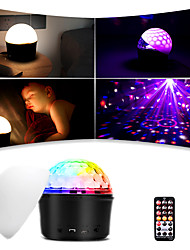 cheap -LED Disco Light Ball Night Lamp Bluetooth Speaker with Lampshade and Remote Controller Sound Activated Control for DJ Show Concert Party KTV
