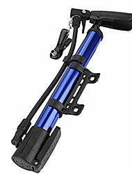 cheap -mini bike pump, portable cycling pumps with frame, high pressure psi & accurate fast inflation, bicycle tyre pump for road and mountain bikes