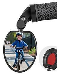 cheap -Drop Bar Bike Mirror Adjustable Portable Cycling Cycling Bicycle motorcycle Bike Nylon PC Black Silver / Black 1 pcs Road Bike Mountain Bike MTB Recreational Cycling