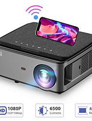 cheap -RD828 1080P Full HD Projector WIFI Multiscreen Projetor 1920 x 1080P SmartPhone Beamer 3D Home Theater Video Cinema