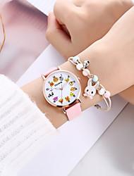 cheap -Women's Quartz Watches Analog Quartz Stylish Cartoon Creative / PU Leather