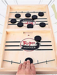 cheap -fast sling puck game table desktop battle ice hockey game wins board game