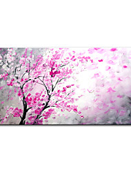 cheap -Mintura® Large Size Hand Painted Abstract Red Tree Flowers Oil Painting On Canvas Modern Art Wall Picture For Home Decoration (Rolled Canvas without Frame)
