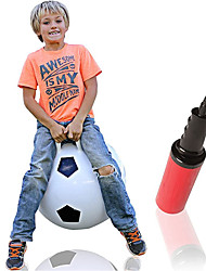 cheap -Hop Ball for Kids 3-6 | Soccer Hopper | Jumping Hopping Ball | Field Day Relay Races | 18""