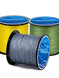 cheap -PE Braided Line / Dyneema / Superline 4 Strands Fishing Line 500M / 550 Yards PE 80LB 70LB 60LB Abrasion Resistant