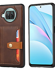 cheap -Phone Case For Xiaomi Back Cover Wallet Card Poco X3 NFC Mi 10T Pro 5G Mi 10T 5G Poco M3 Redmi Note 9 4G Redmi Note 9 Pro Redmi Note 9 Pro Max Redmi Note 9S Mi 10T Lite 5G Wallet Card Holder