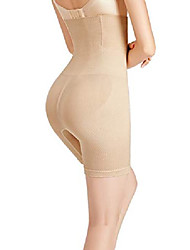 cheap -Corset Women's Control Panties Classic & Timeless Seamless Simple Style Breathable Tummy Control Basic Solid Color Seamed Not Specified Nylon Polyester Christmas Halloween Wedding Party Birthday Party