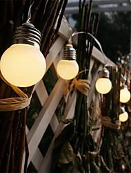 cheap -LED Retro Globe Festoon Bulb 1.5M 3M Ball String Light Outdoor LED Outdoor Lights for Wedding Garden Decor Holiday Garland String Light AA Battery Power
